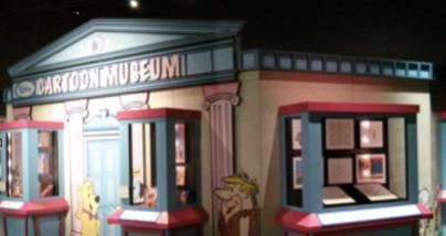 Stephanie Liu. Animation Museum, 2015. Smartphone Camera. Taken by Stephanie
